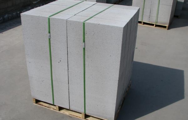 砂加气砌块包装